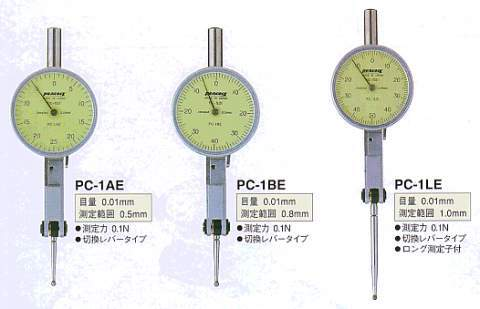 Model # PC-1LE - DIAL TEST INDICATOR 0.01 x 1.0 mm Low Measuring Force 0.1N or less