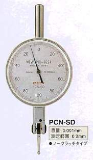 Model # PCN-SD - TEST DIAL INDICATOR 0.001 x 0.2 mm Large 46.5  Dial Face