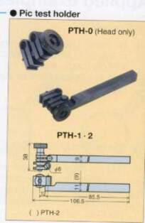 Model # PTH-2 - Pic Test Holder 9 x 9 mm