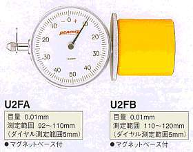 Model # U2F-A DIAL INSIDE GAUGE 0.01 x 92-110 mm