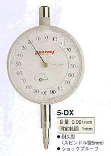 Model # 5-DX - DIAL GAUGE 0.001 x 1 mm Heavy duty Spindle
