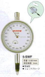 Model # 5-SWF - DIAL GAUGE 0.001 x 1 mm oil-proof