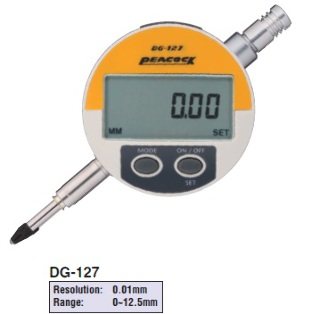 Model # DG-127 - DIGITAL INDICATOR 12.5 x 0.01 mm