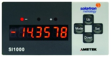 SI 1300 Single Channel Readout for LVDT probes - Vdc & mA output