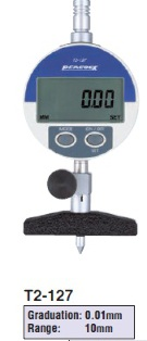 Model # T2-127 - DIGITAL DEPTH GAUGE 0.01 x 10 mm with DG-127 Digital indicator.