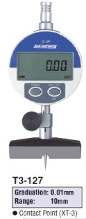 Model # T3-127 - DIGITAL DEPTH GAUGE 0.01 x 10 mm with DG-127 Digital indicator.