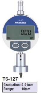 Model # T6-127 - DIGITAL DEPTH GAUGE 0.01 x 10 mm with DG-127 Digital indicator.