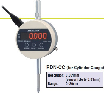 Model # PDN-CC - DIGITAL LINEAR GAUGE 50 x 0.001 mm for Cylinder (Bore) Gauges