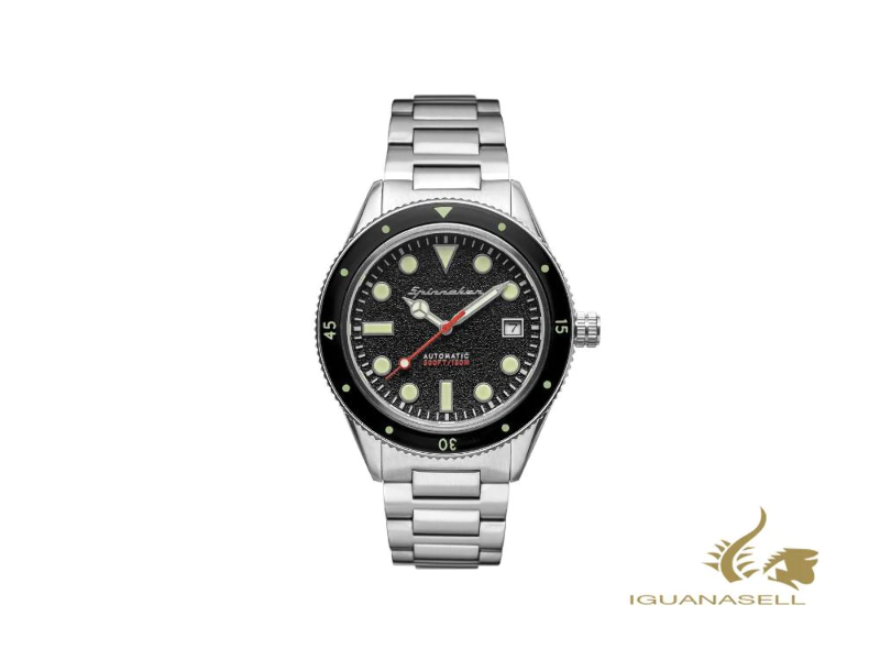 Spinnaker Cahill Automatic Watch Black 40 Mm 15 Atm Sp 5075 11 Ebay