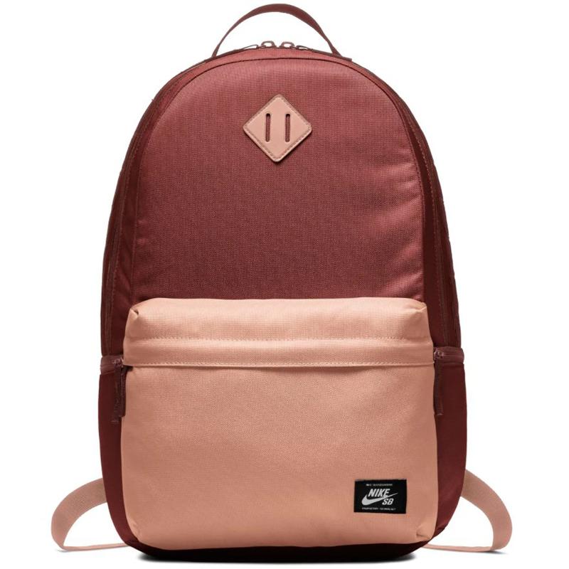 Details about Nike SB Icon Mens Skateboard Backpack Textile Boy School Bag Black BA5727 010