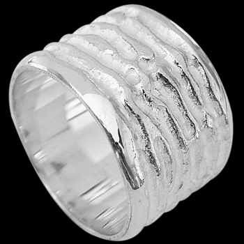 Mens Jewelry - .925 Silver Thumb Rings A283