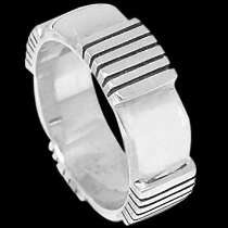 Mens Jewelry - .925 Silver Thumb Rings R1-10057