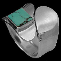 Mens Jewelry - .925 Silver Thumb Rings R580