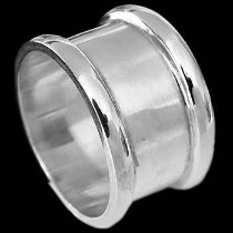 Mens Jewelry - .925 Silver Thumb Rings R470