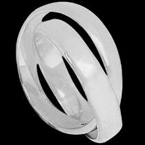 Mens Jewelry - .925 Silver Thumb Rings R1-10044