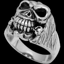 Gothic Jewellery -.925 Sterling Silver Skull Rings RCK1610