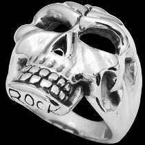 Gothic Jewellery -.925 Sterling Silver Skull Rings RCK210
