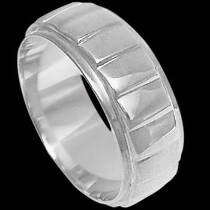 Mens Jewelry - .925 Silver Thumb Rings R1-10261