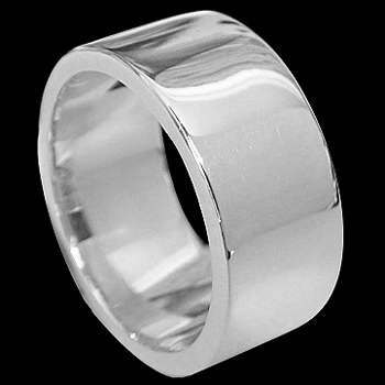 Mens Jewelry - .925 Silver Thumb Rings R693