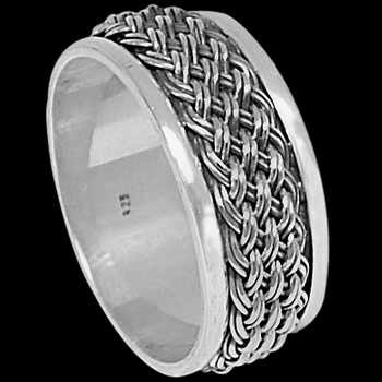Mens Jewelry - .925 Sterling Silver Rings R027