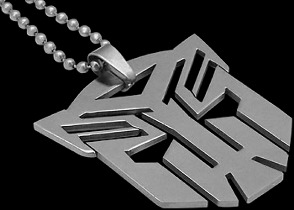 Jewelry - Stainless Steel Transformer Pendants ST0102