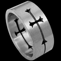 Men's Jewelry - Stainless Steel Rings ST1008