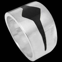 Plus Size Jewelry - Sterling Silver Rings AZ615L