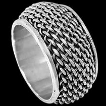 Mens Jewelry - .925 Sterling Silver Rings R427