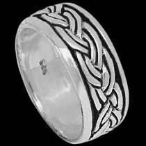 Celtic Jewelry - .925 Sterling Silver Rings R703