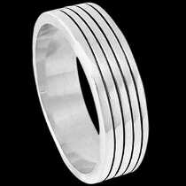 Mens Jewelry - .925 Silver Thumb  Rings R1-10048