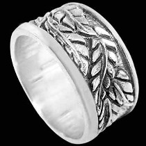 Mens Jewelry - .925 Silver Thumb Rings R707
