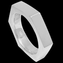 Mens Jewelry - .925 Silver Thumb Rings R1-10267