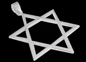 Groom's Gift - Sterling Silver Star of  David