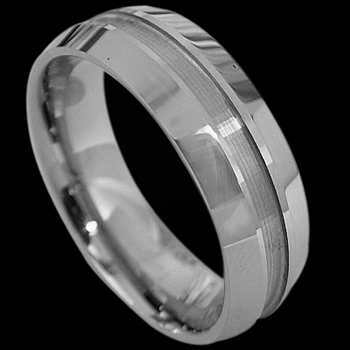 Tungsten Carbide Jewelry - Tungsten Wedding Bands RT021