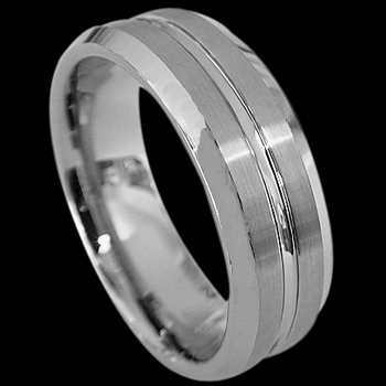 Tungsten Carbide Jewelry - Tungsten Wedding Bands RT015