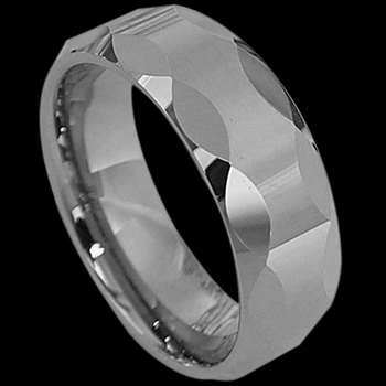 Tungsten Carbide Jewelry - Tungsten Rings RT004