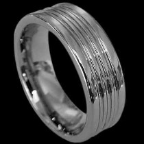 Wedding Bands - Tungsten Rings RN001