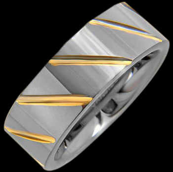 Wedding Bands - Tungsten Rings RT006