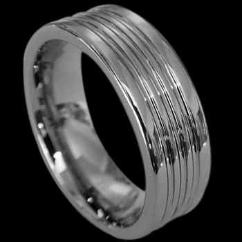 Tungsten Carbide Jewelry - Tungsten Wedding Bands RN001