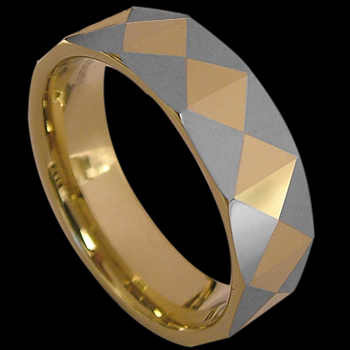 Wedding Bands - Tungsten Rings R8001C