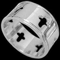 Religious Jewelry - .925 Sterling Silver Rings RI56