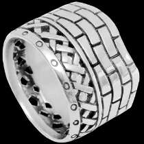 Mens Jewelry - .925 Sterling Silver Rings R10560