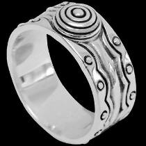 Mens Jewelry - .925 Sterling Silver Rings R10592