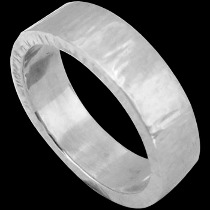 Mens Jewelry - .925 Silver Thumb Rings R1017