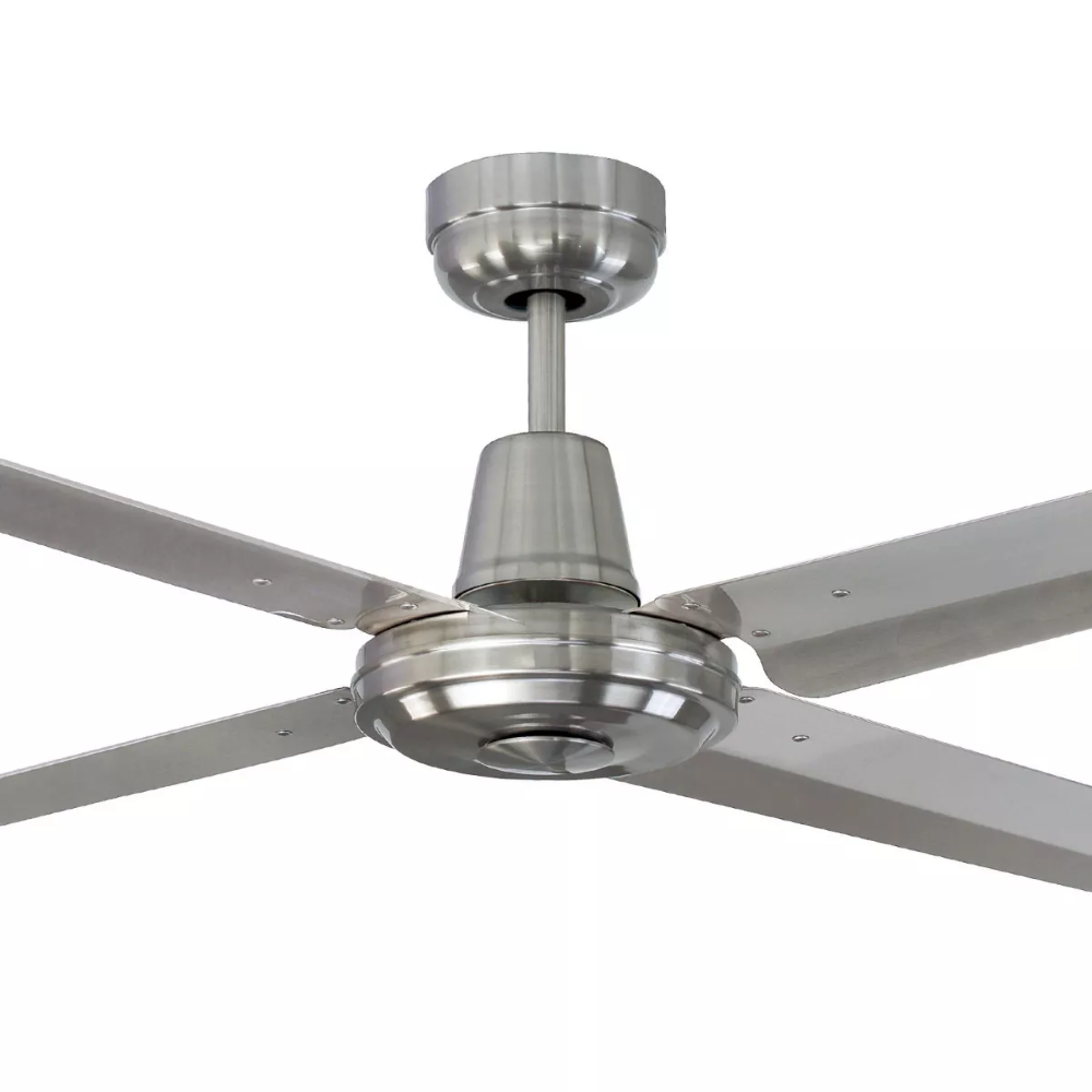 New mercator swift 316 stainless steel 56 1400mm metal blade new mercator swift 316 stainless steel 56 1400mm metal blade ceiling fan mozeypictures Images