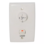 NEW Mercator Wall Controller with 3 Speed Capacitor & Light Switch - 1.5 & 2.5 µ