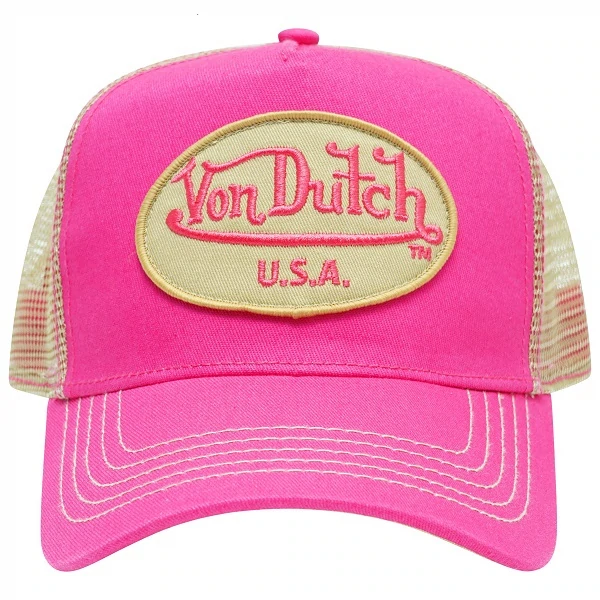 Authentic Brand New Von Dutch Sands Ivory Cap Hat