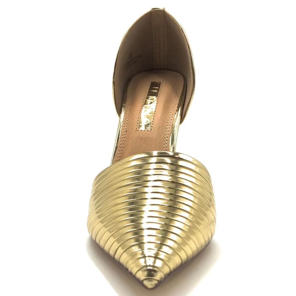 Liliana Leska 70 Rhinestone Slip On High Heel New Fashion