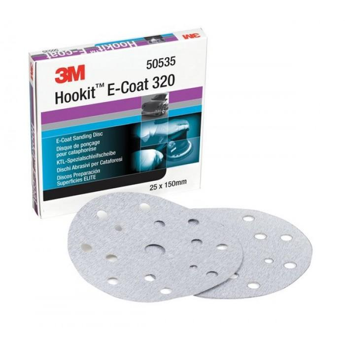 3M Hookit Blue Abrasive Disc Multihole 6 inch 150mm 400G 36181 50 Pack Sandpaper