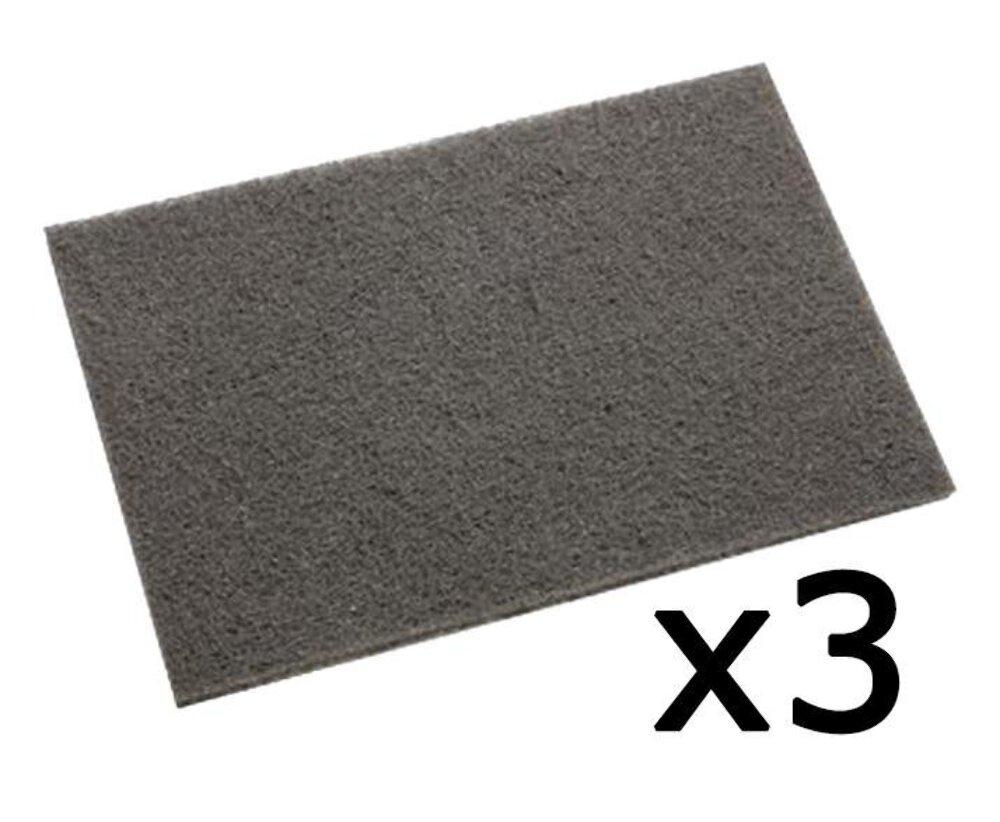 3M 7448 Scotch Brite Ultra Fine Hand Pad 3 Pack 152mm x 228mm   eBay